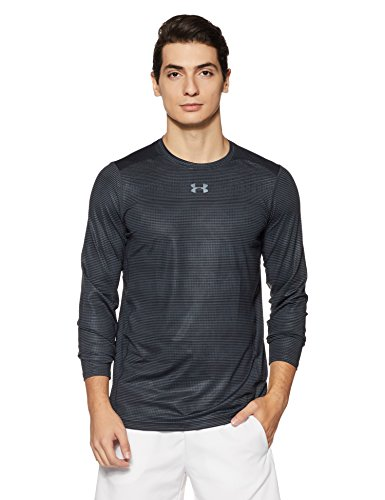 Under Armour Men's Coolswitch Armour Long Sleeve T-Shirt,Anthracite (016)/Graphite, Large