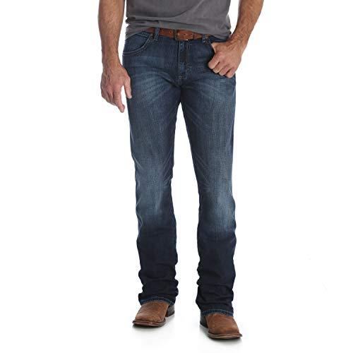 Wrangler Men's Retro Slim Fit Boot Cut Jean, Park City, 38W x 32L (Best Looking Mens Boots)
