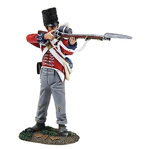 William Britain 36161 1st Foot Guard Battalion Company Standing Firing  2 by Britains
