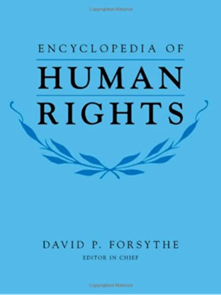 Encyclopedia Of Human Rights Forsythe David P 0000195334027 Books