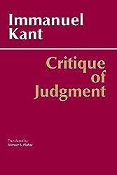 Critique of Judgment (Hackett Classics)
