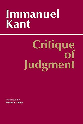 Critique of Judgment (Hackett Classics)