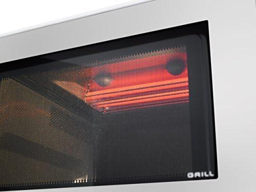 Panasonic Nn-Gd37hsbpq Inverseur Four à Micro-Ondes avec Grille, 23 Litres, 1000 W, Acier Inoxydable