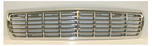 (Grille Grill Chrome & Silver Front for 91-96 Chevy Caprice)