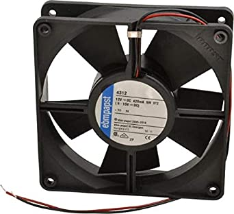 ebm papst 12 volts dc 100 cfm tube axial fan 119mm high. Black Bedroom Furniture Sets. Home Design Ideas