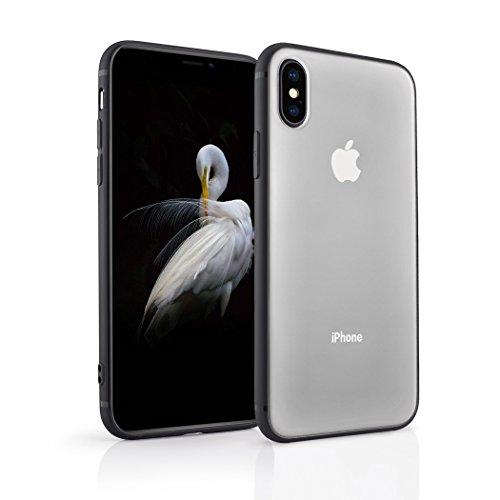 Phone Case Compatible iPhone X,iPhone XS Anti-Scratch Hybrid Shock Absorption TPU Clear Back Panel Case Compatible iPhone X(2017),iPhone XS(2018), Clear03