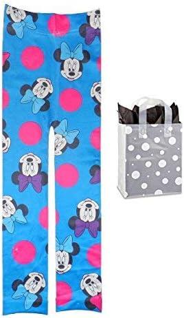 Disney Little Girls Minnie Mouse Tights /& Bag 2 Piece Gift Set