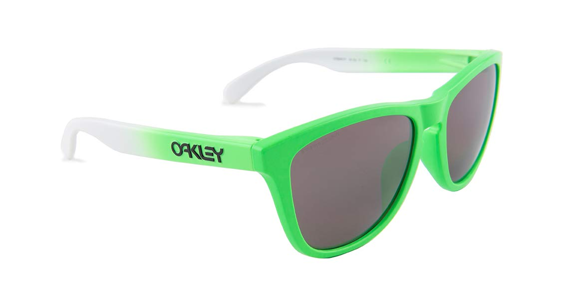 Oakley Unisex (A) Frogskins Green Fade/Prizm Daily Polarized One Size by Oakley