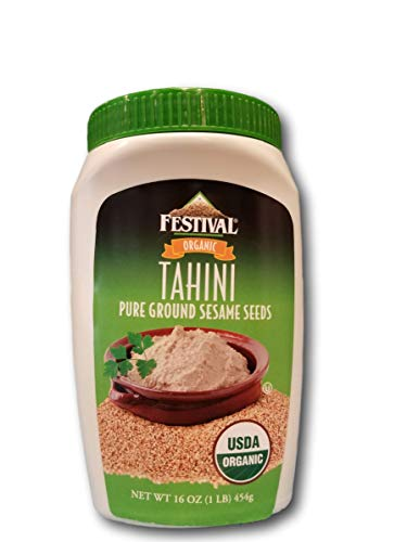 Festival Organic Tahini From Pure Ground Sesame Seeds