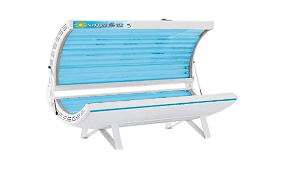 Tanning bed white strip fill
