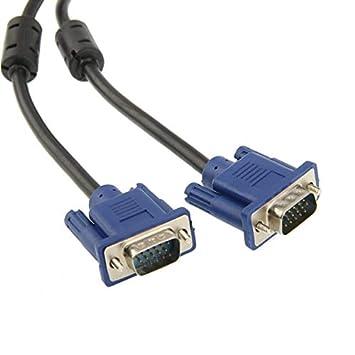 VGA Adaptador y Cable, VGA 15 – Muñeco – 15 – Pin Masculinos Cable ...