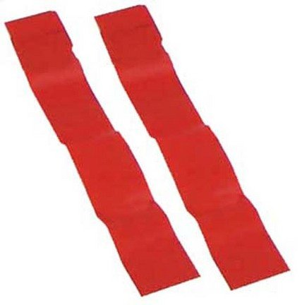 Olympia Sports Replacement Red Flag Football Flags - 3 Sets of 12 Pairs (36 Pair Total)