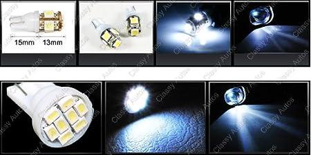 Amazon.com: Classy Autos Honda FIT JAZZ White Interior LED Package (4 Pieces): Automotive