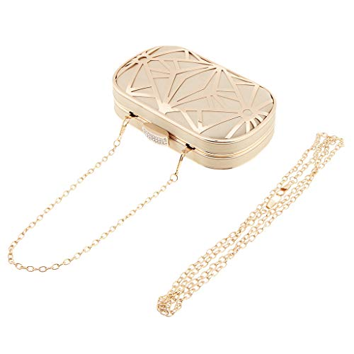 Gold Detachable gold Chain MagiDeal for Gift Clasp Clutch Girl Bag with Women UBPwP1q6