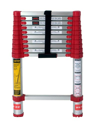 - Xtend & Climb 760P Xtend+Climb Telescoping Extension Ladder, 225 Lb, 1-1/2 in in, 10.5 ft, Red