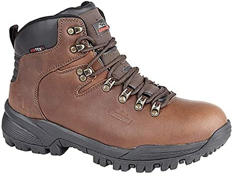 Johnscliffe Canyon Himalaya Unisex Waterproof Hiking Boots, Size 5 Brown