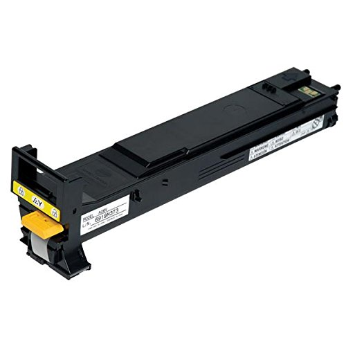 Konica Minolta Magicolor 5550/5570/5650/5670 Yellow High Capacity Toner 12000 Yield (5570 Toner Yellow)