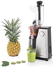 H.Koenig Vertical Juicer GSX18, Vitamine, Sapcentrifuge, BPA Vrij, 82 mm, Grote Mond, Zachte Druk, 60 tpm, 400 W