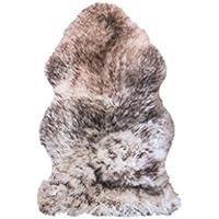 NATURAL 100% New Zealand Sheepskin Single,  Gradient,  36 L x 24 W