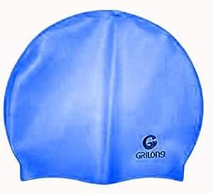 قبعة سباحة من جريلونج لون ازرق غامق