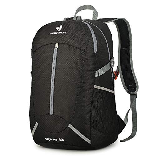 684b142362e7 NEEKFOX Lightweight Packable Hiking Backpack 30L Travel Hiking Daypack for  Men Women