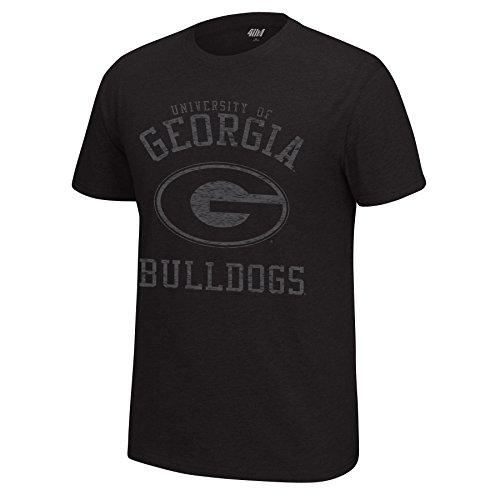 Georgia State Bulldogs (NCAA Georgia Bulldogs Men's Major Mascot Staple Tee, Medium, Black Heather)