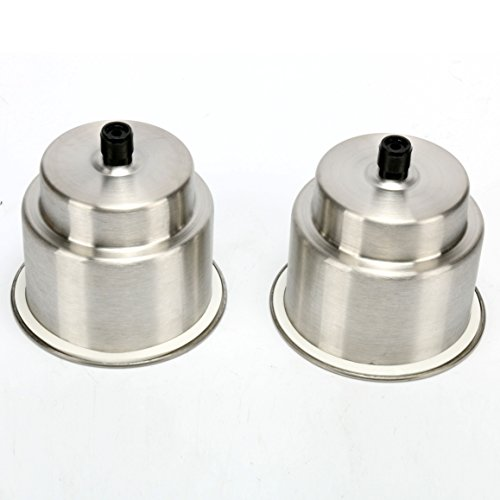 Amarine-made 2pcs Stainless Steel Cup Drink Holder with Drain Marine Boat Rv Camper by Amarine-made (Image #2)