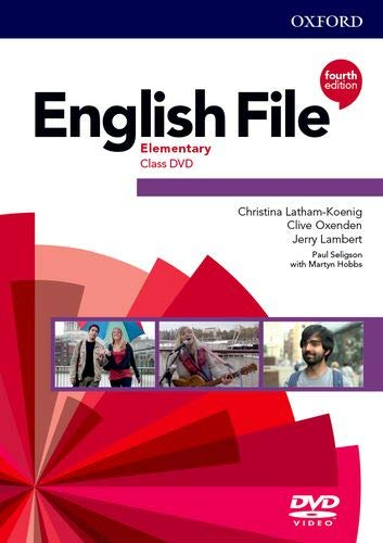 English File Elementary Class Video DVD (4th Edition)