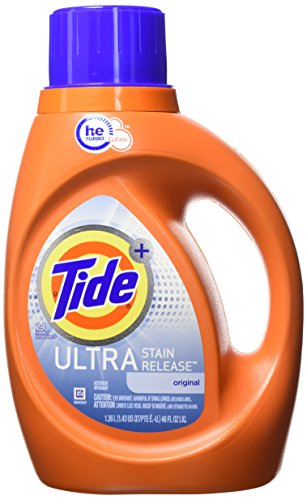 Tide Ultra Laundry Detergent - Tide Liquid Laundry Detergent, Ultra Stain Release, 46 Ounce