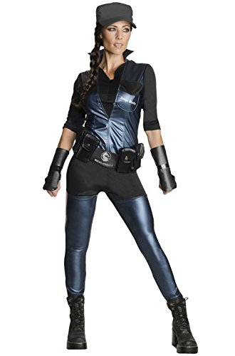 Sonya Blade Costume - Small - Dress (Sonya Blade Adult Costumes)