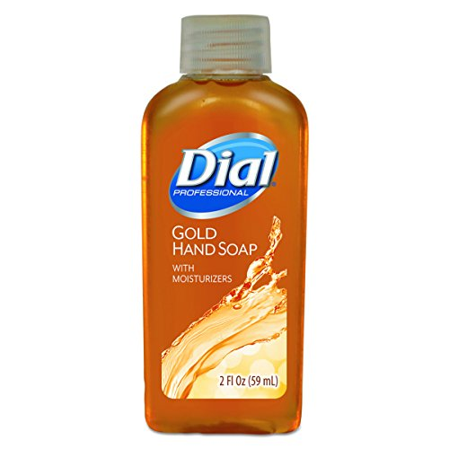 Dial 06059 Gold Liquid Soap, 2 oz, (Case of 48) by Dial