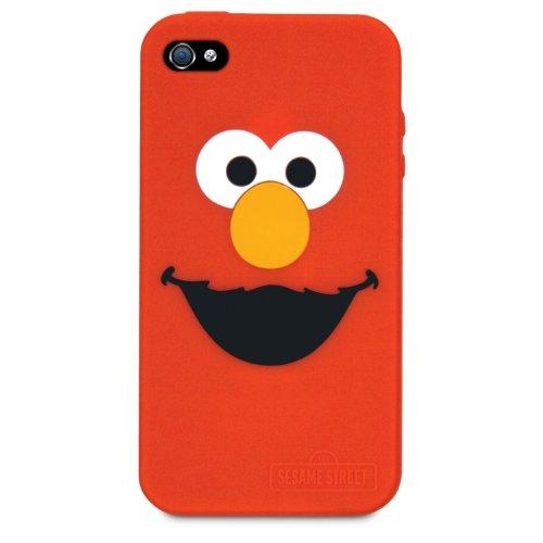Elmo Silicone Case - iSound ISOUND-4666 Sesame Street Elmo Silicone Case for iPhone 4/4S - 1 Pack - Retail Packaging - Red
