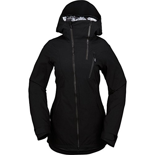 Volcom V Insulated Gore Hooded Stretch Jacket - Women's Black, XS