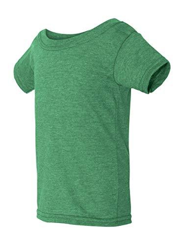 Gildan Toddler Softstyle 45 oz T-Shirt - HTHR IRISH GREEN - 6T - (Style # G645P - Original Label)