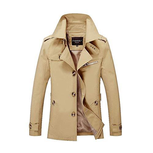 Court coat Simple Angleterre Hommes Xxxl Manteau coloré Homme Trench Fuweiencore 4 Boutonnage 2018 Pour Taille 5 Moyen UxHTc8B