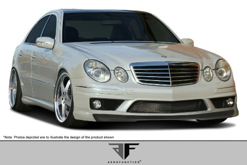 - Aero Function ED-BOD-009 AF-1 Front Add-On Spoiler (GFK) - 1 Piece (will only fit AMG sport models) Body Kit - Compatible For Mercedes E55 2003-2006