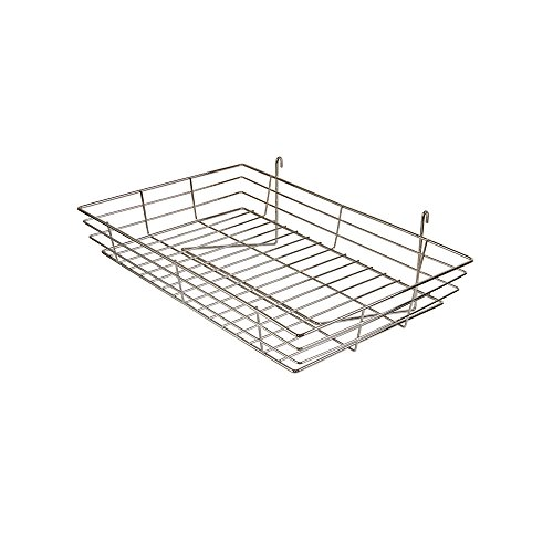 Econoco GWS/92 Basket, 24'' Width x 15'' Depth x 4-1/2'' Height (Pack of 4) by Econoco