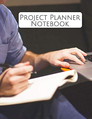 Project Planner Notebook: Perfect Manager Organizer, Meeting Schedule Attendees, Execution Plans, Cost Control, Make Actions Notes, Follow Up Item, Reminder Notes, 8.5