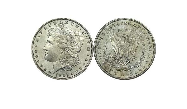 BU 1897-P Morgan Silver Dollar Brilliant Uncirculated
