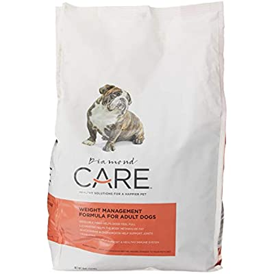 Diamond Care Weight Management formula for adult dogs , 8 lbs