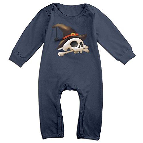Ano Happy Halloween For 6-24 Months Newborn Geek Tee Shirt Navy Size 18 Months