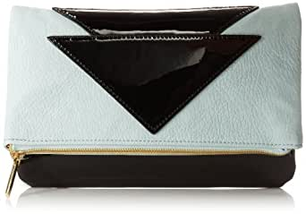 BCBGeneration Quinn The Indio Clutch,Mink Combo,One Size
