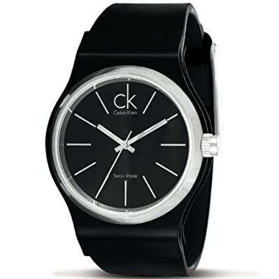 CK Calvin Klein Men's K7941302 Black Watch