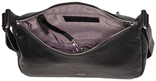 BREE Cary 2, Black, Hobo S W17 - Borse a spalla Donna, Schwarz (Black), 12x30x30 cm (B x H T)