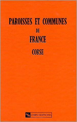 Paroisses et communes de France. Corse epub pdf