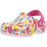 Crocs Kids' Classic Seasonal Graphic Floral Clog, Barely Pink, 12 M US Little Kid