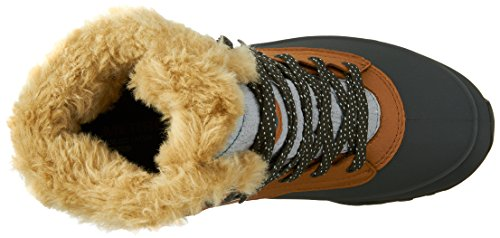 Merrell Fluorecein Shell 8 Wtpf - High Rise Hiking de cuero mujer Brown Sugar