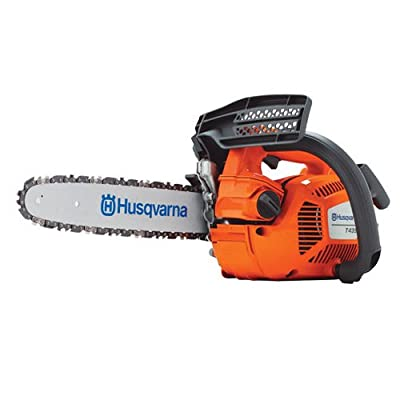 Husqvarna Top Handle Chainsaw - 14 Inch Bar, 35 cc 2 hp Engine