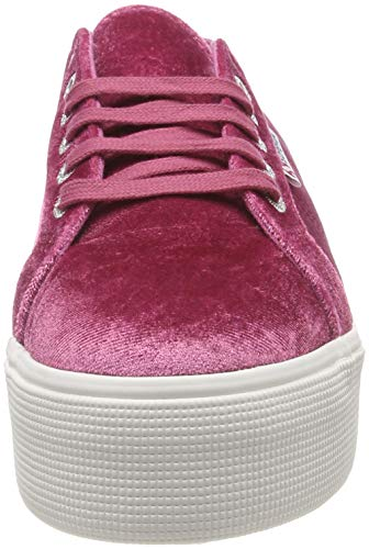 red Superga Dahlia Rot 288 2790 velvetchenillew Donna Sneaker YO4xwn74qX