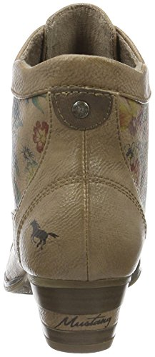Marrone natur 1187 Donna Mustang 509 Stivaletti TwICaxqY